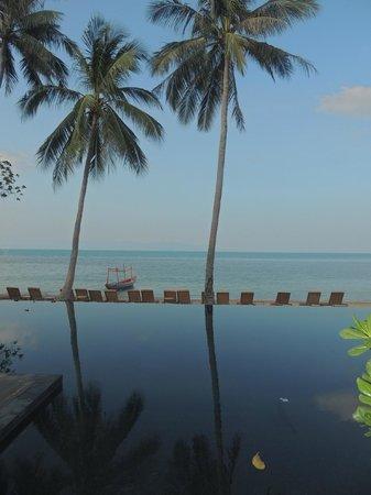 The COAST Resort - Koh Phangan: Piscina infinita