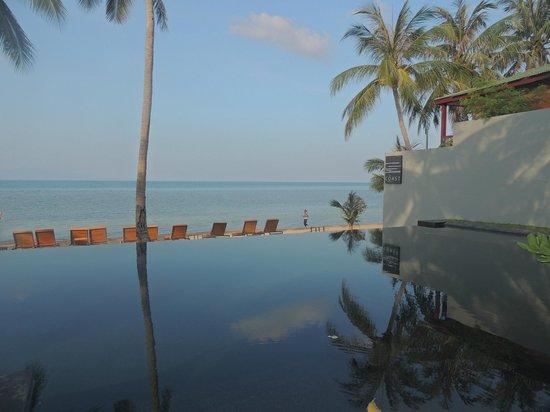 The COAST Resort - Koh Phangan : Piscina infinita