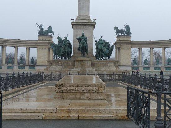 Heldenplatz: Detalle del Memorial