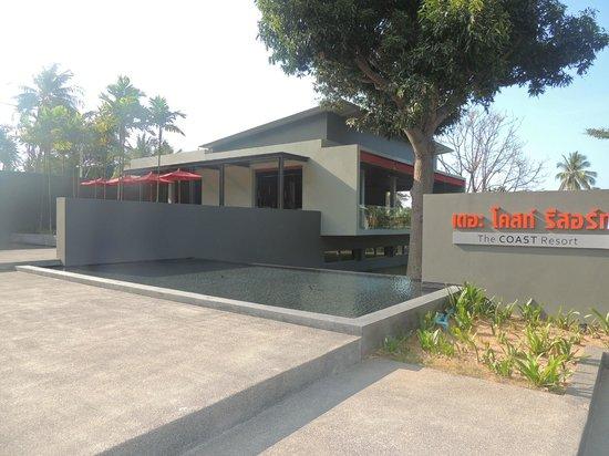 The COAST Resort - Koh Phangan : Frente