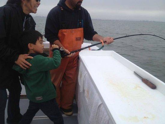 Big king salmon fishing off the san francisco coast for San francisco fishing charters