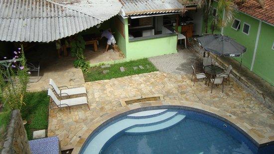 Pousada Tropical Twin : Vista dos flats para a piscina