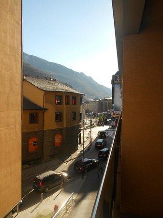 NH Hesperia Andorra La Vella: View from our balcony