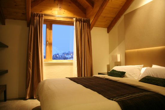 Galileo Boutique Hotel  Bariloche: Junior suite mirando a montanha
