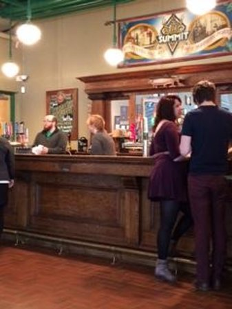 Summit Brewing Company: What's on tap in the bar area?