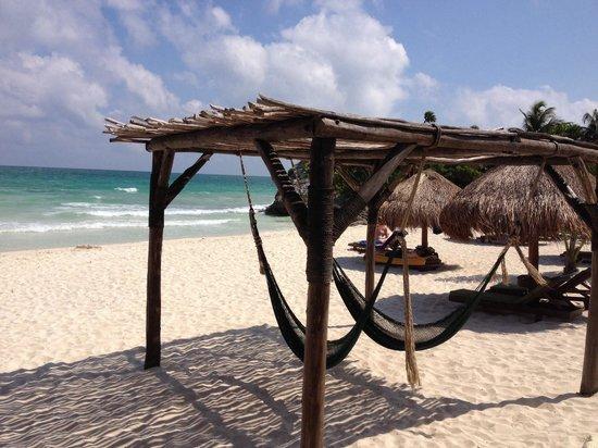 Piedra Escondida: La spiaggia