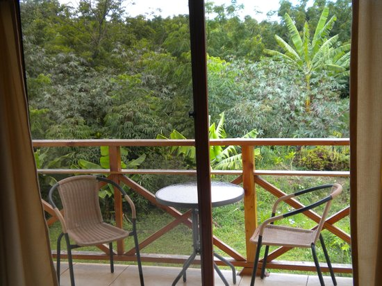 Hotel y Cabañas Tea Nui: vista desde la habitacion