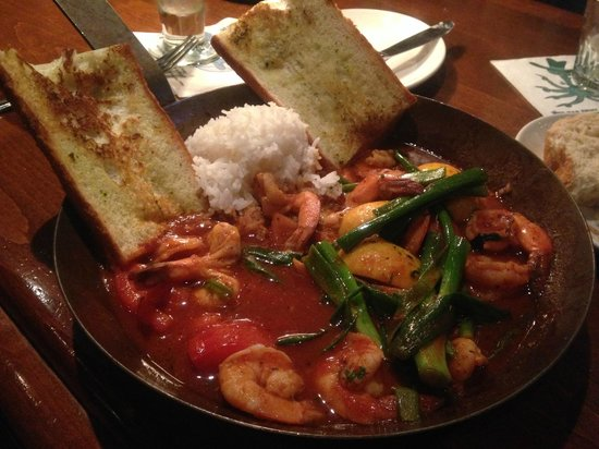 King's Fish House: Sautéed Farmed N'awlins BBQ Shrimp