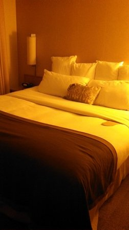 Coast Anabelle Hotel: Great bed, bedding and pillows