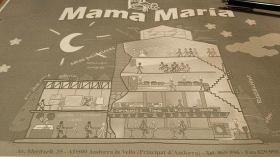 Mama Maria: restaurante2