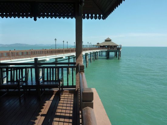 Berjaya Langkawi Resort - Malaysia : View from our deck of Thai restaurant