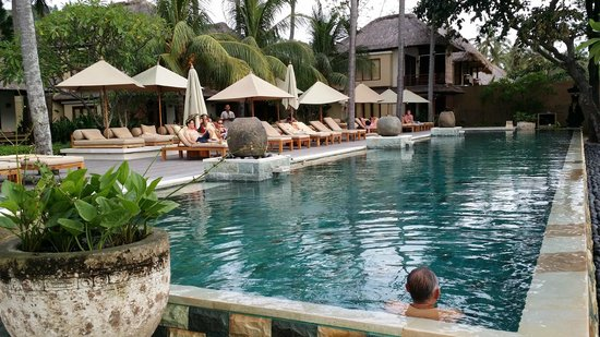 Qunci Villas Hotel : Very Clean pool!