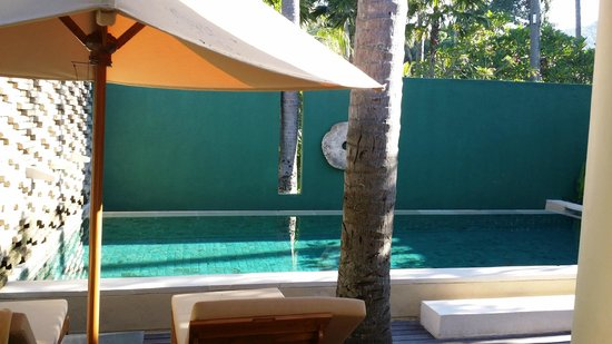 Qunci Villas Hotel: the one pool in your room!