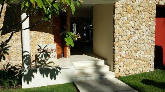 Qunci Villas Hotel: Qamboja Spa!