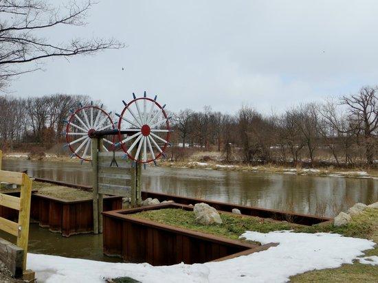 Windmill Island Gardens: Windmill Island in the winter
