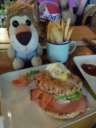 Missing Marbles: Salmon Bagel, RM18-20?