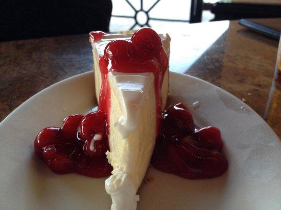 The Cheesecake Factory: Cherry Cheesecake