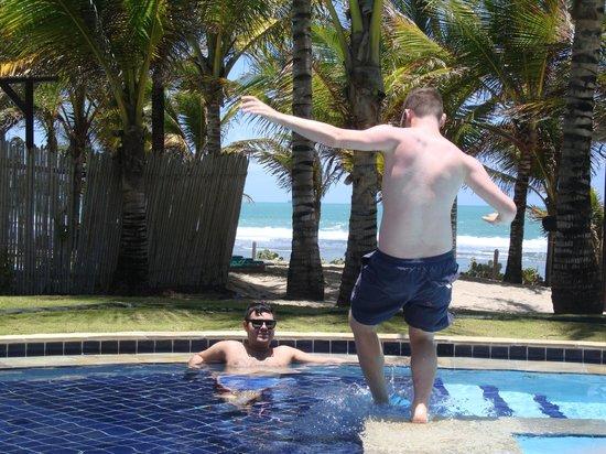 Nannai Resort & Spa: Our private pool.