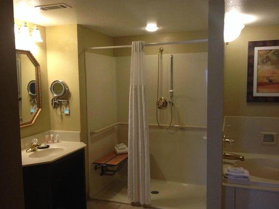 Wyndham Nashville: ADA-compliant shower stall