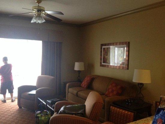 Wyndham Nashville: Main living area