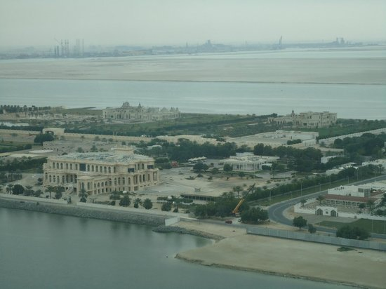 Hyatt Capital Gate: Room view, great time for daydreaming