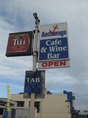 Anchorage Cafe & Wine Bar: Anchorage Cafe' Signage