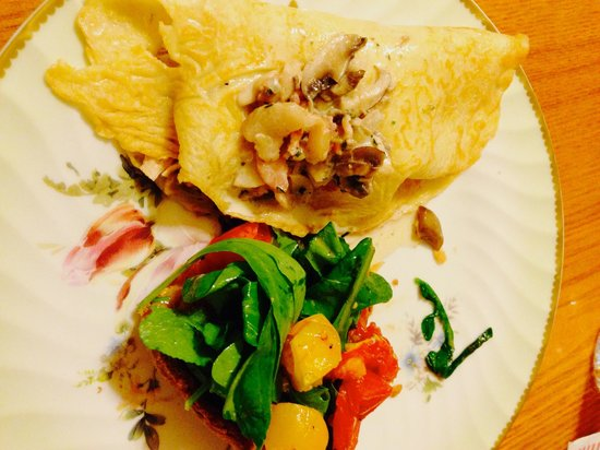 Chop, WOK & Talk: Chicken Mushroom Crepes, and a Roasted Tomato Whole Wheat Tart