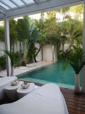 Eden - The Residence at the Sea : Private Pool
