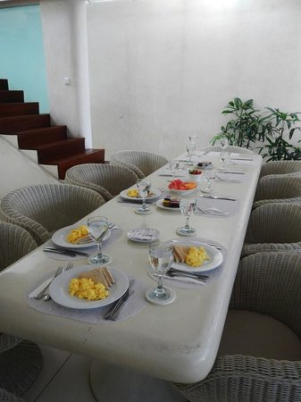 Eden - The Residence at the Sea : Dining Room