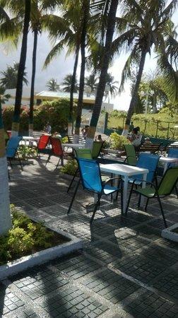 Sol Caribe Campo: Pérgola de descanso