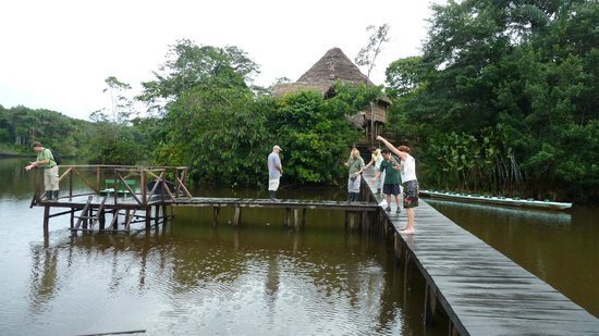 La Selva Amazon Ecolodge : Hier kommt man an