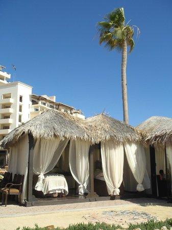 Solmar Resort: Fabulous spa cabanas