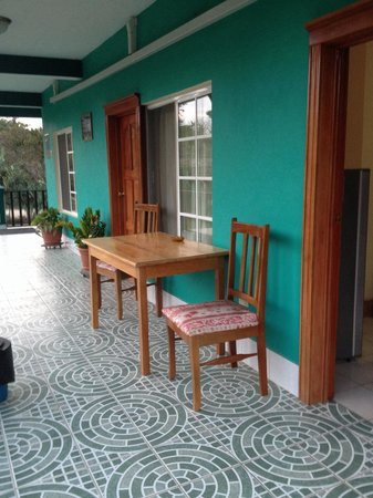 River Park Inn: The balcony