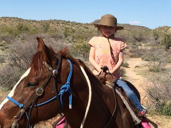 Flying E Ranch : Age 6 and older go on trail rides