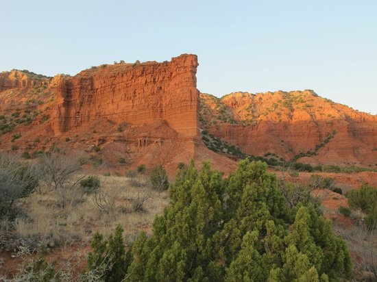 Caprock Canyons State Park: View from Sough Prong Trailhead