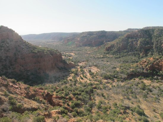 Caprock Canyons State Park: South Prong Canyon from Top