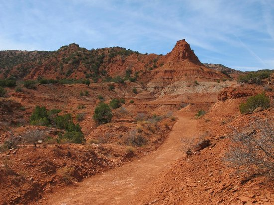 Caprock Canyons State Park: North Prong Canyon Opens Up For Wide Views
