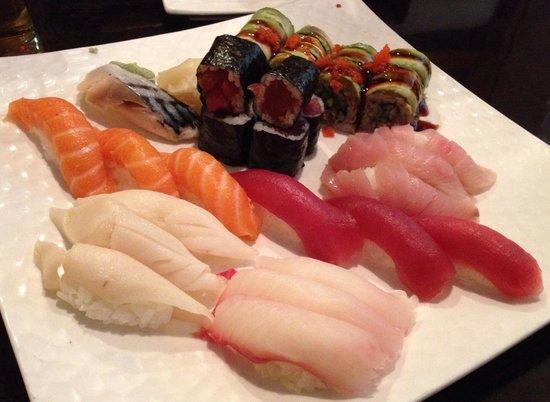 Osaka Seafood Steakhouse: Wonderful sushi for two at $37