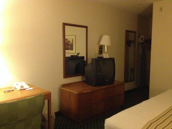 Econo Lodge Inn & Suites Charlotte Airport: camera matrimoniale