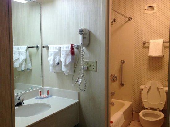 Econo Lodge Inn & Suites Charlotte Airport: bagno pulito