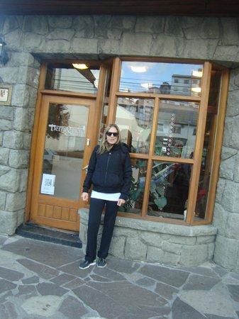 Hostel Tierra Gaucha: En el frente de Tierra Gaucha Hostel