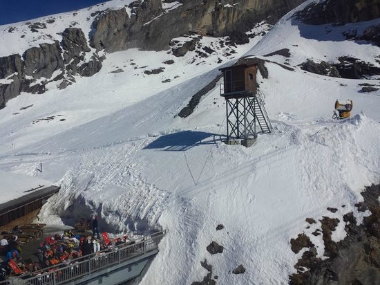 Mount Titlis: View from Rotair