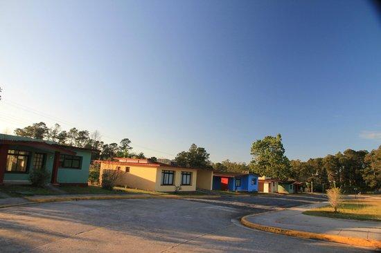 Villa Caburní : upper side