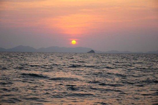 Krabi Sunset Cruises : sunset