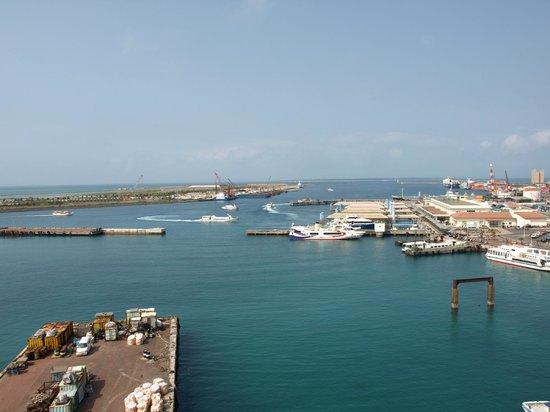 Hotel East China Sea : 部屋からの眺め 朝