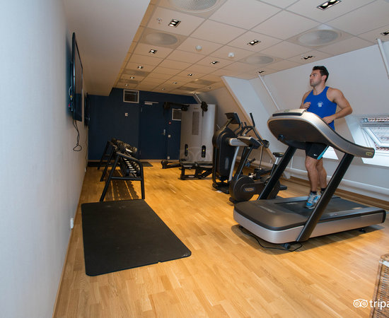 Fitness Center at the Radisson Blu Royal Hotel