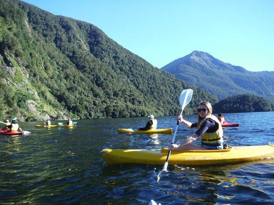 Doubtful Sound: more kayak fun
