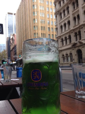 The Grace Hotel Sydney: View from the nearby Bavarian Bier Cafe