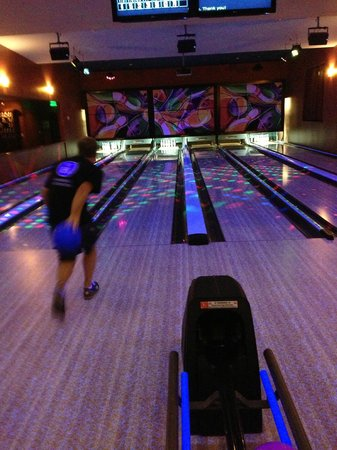 The Meritage Resort and Spa: Fun bowling
