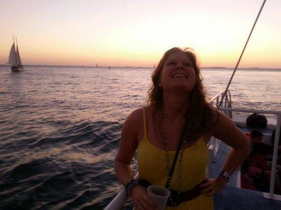 Fury Water Adventures Key West : fun night :)